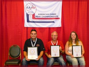Small diameter smoked _ cooked sausage winners 2017 AAMP 2