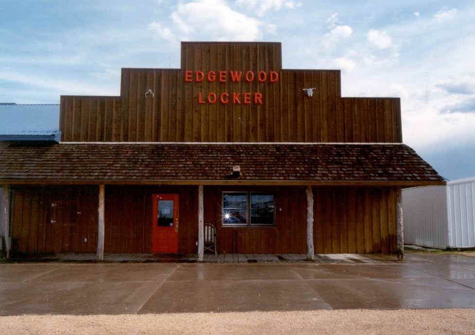 Edgewood Locker in its current location.