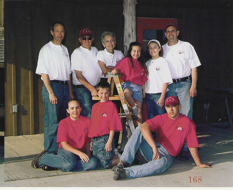 Kerns Family in 2003