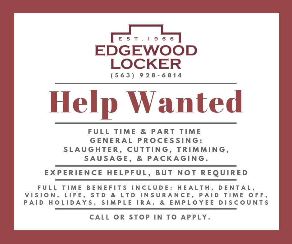 Help Wanted General Proc. 5.22.20