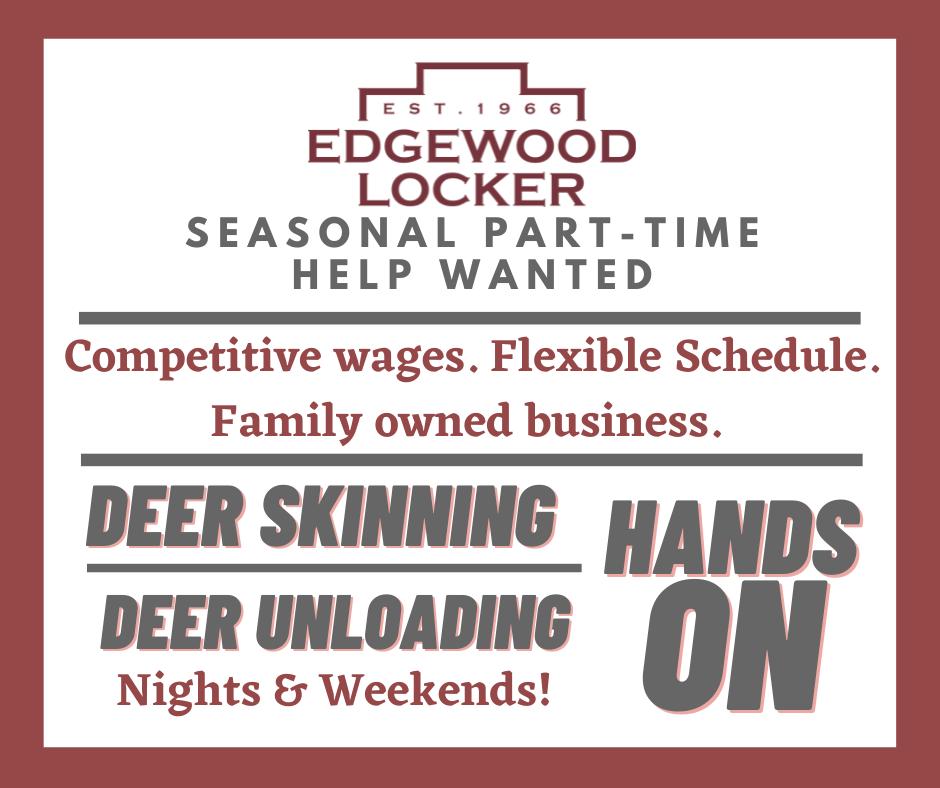 Seasonal Part-Time - Deer Season (2)